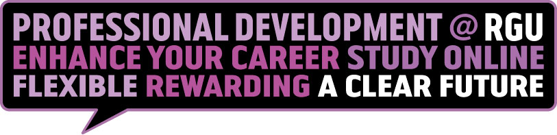 Professional Development at RGU Banner