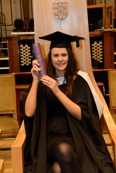 RGU graduate Ailsa Kerr will become the third generation of her family to become a nurse.
