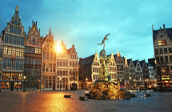 Antwerp by Night