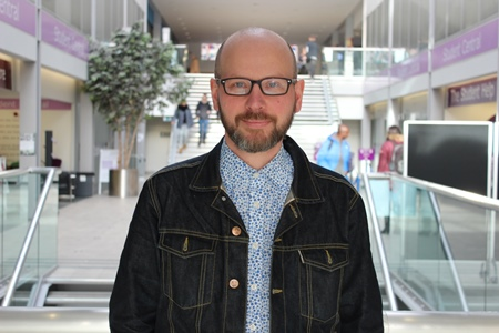 RGU lecturer Chris Yuill is leading the study.