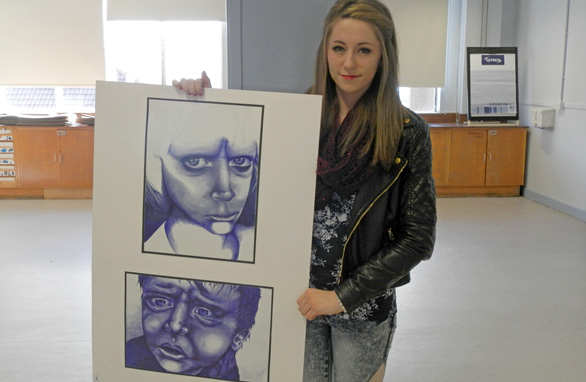 Baillie Gifford Scholarship in Creative Arts student 2014 (Jade Gilbert)