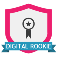 Digital Rookie badge - Modern Marketer game