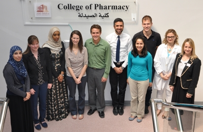 Doha JBI Training at the College of Pharmacy.