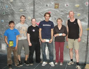 Drytooling comp winners