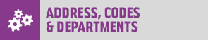 Erasmus - Address Codes Departments Button 295