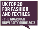 Guardian Accolade 2017 -  UK Top 20 Fashion and Textiles Business