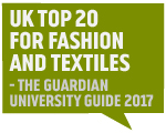 Guardian Accolade 2017 -  UK Top 20 Fashion and Textiles Grays