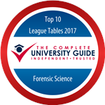 The Complete University Guide - Forensic Science 2017