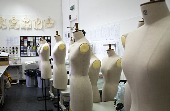 Dressmakers models at Grays School of Art
