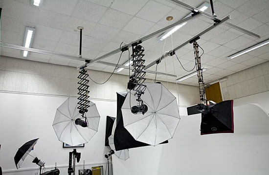 Photography studio at Gray's School of Art