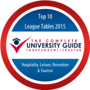 The Complete University Guide - Hospitality, Leisure, Recreation and Tourism