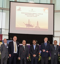 Indian energy delegation with RGU representatives