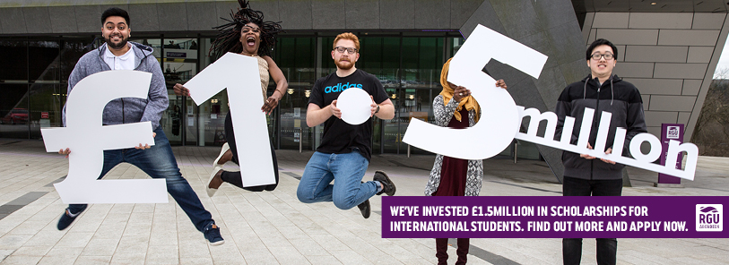 £1.5million International Scholarships