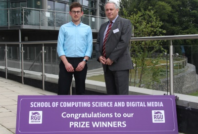 Scott Adams and Ronald Holden, Computing prizegiving 2015