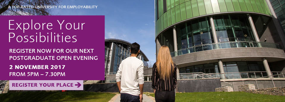 Postgraduate Open Evening November 2017