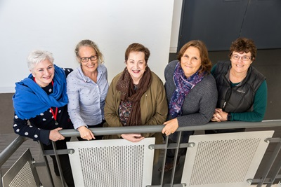 Image Courtesy of The Gatehouse – (L to R): Prof Jean Rankin UWS, Dr Andrea Gilkison AUT, Prof Ruth Deery UWS, Prof Susan Crowther RGU, Associate Prof Judith McAra-Couper AUT