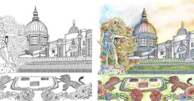 Colouring book project UTG