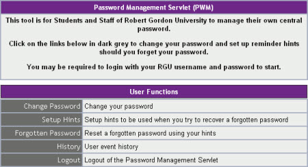 Password Manager Screenshot