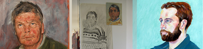 Portrait drawing short course banner