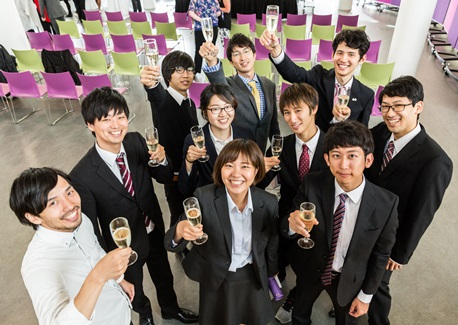Nippon Foundation students graduate from RGU summer school 2017