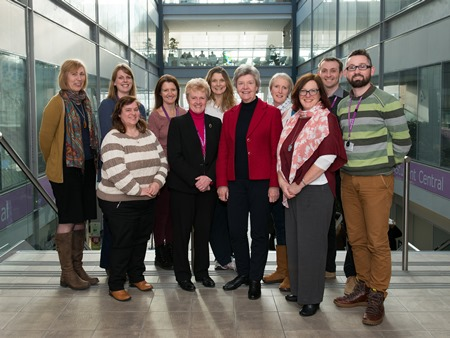 RGU's Physiotherapy Team.