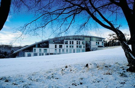 RGU in the snow