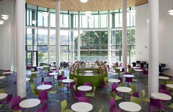 Sir Ian Wood Building Atrium