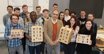 Third year architecture students 2016 - tower block project