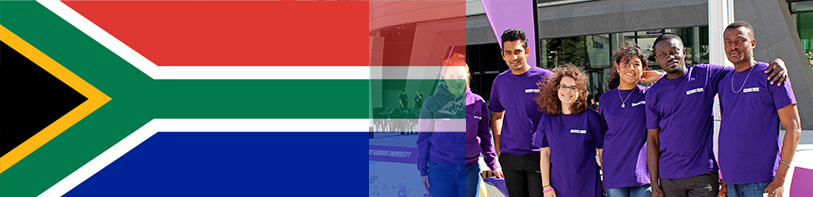 International Students Banner - South Africa