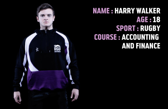 Sport Scholar 2014 - Harry Walker