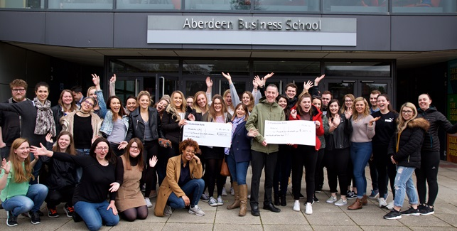 Aberdeen Student Festival raised £5K for Erskine and Diabetes (UK)