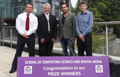 Thomas McMillan, computing prizegiving 2015
