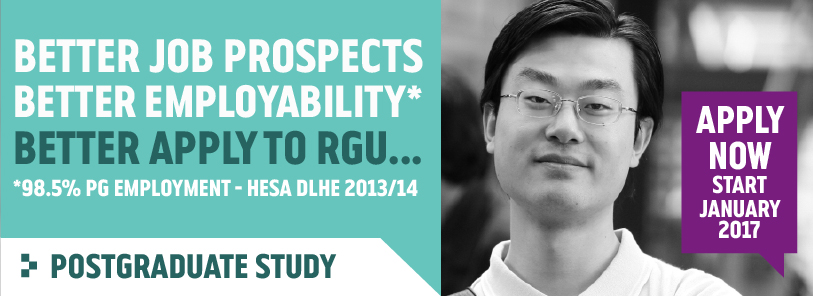Postgraduate Courses at RGU