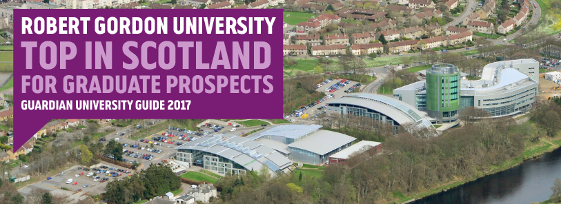 Top in Scotland for Graduate Prospects - Guardian University Guide 2017