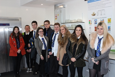 Torry Academy pupils in a Food Lab