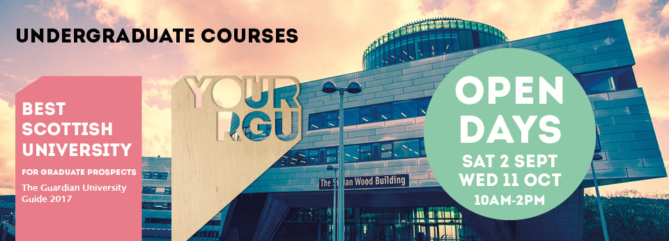 RGU Undergraduate Courses and Open Day
