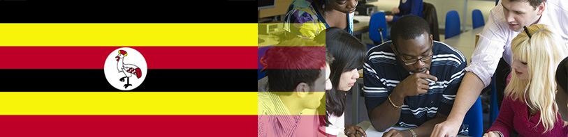 International Students Banner - Uganda
