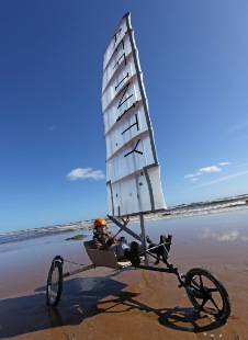 Young engineers race land yachts on aberdeen beach april 2013 landyachts 2013 sciox Gallery