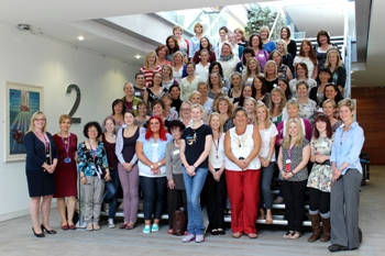 More than 70 midwives and student midwives attended the Waterbirth Study Day at RGU's Faculty of Health and Social Care.