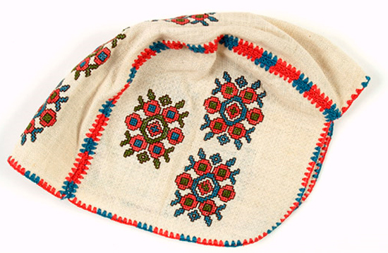Diverse Threads - Yugoslavian Embroidered Bonnet
