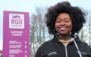 Yvonne Ofordu, student president for education and welfare