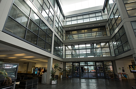 The Atrium at Aberdeen Business School