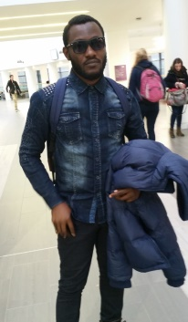 Picture of Onyedikachi Onumajuru, current MSc Purchasing and Supply Chain Management student at RGU