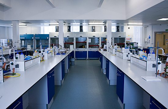 Pharmacy laboratory