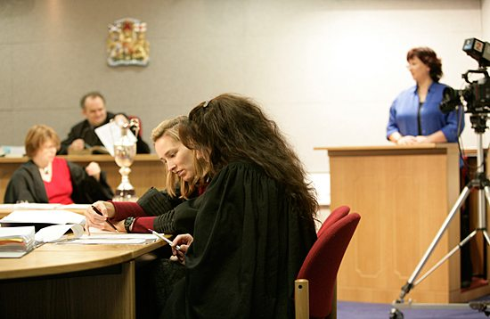 Moot Court in use
