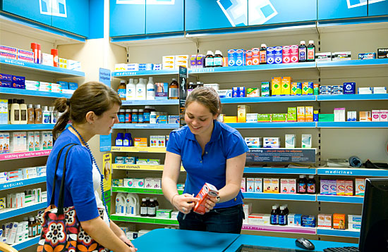 The Pharmacy practice learning environment