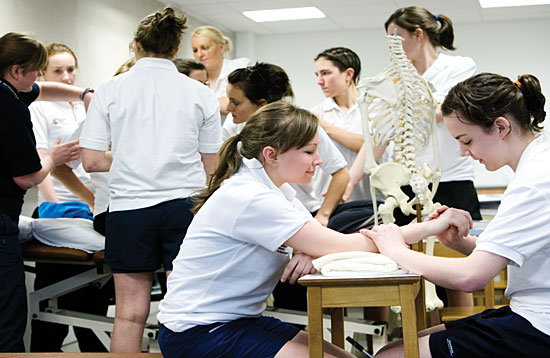 Physiotherapy students