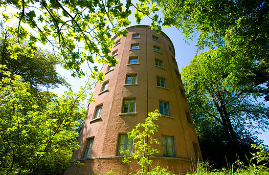 The Round Tower - an accommodation block at Garthdee