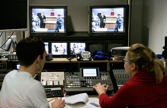 TV Studio - Viewing Equipment
