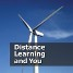 "Cover for the information booklet ""distance learning and you"", produced by the Scott Sutherland School of Architecture and Built Environment."
